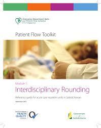 interdisciplinary rounding
