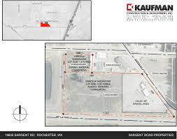Lacey Washington Map by Map Of Properties Kaufman Construction U0026 Development