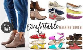 Black Comfort Shoes Women Comfortable Walking Shoes Love Taza