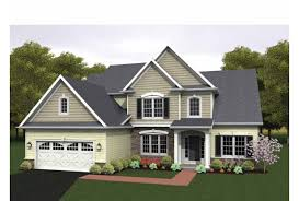 two story colonial house plans eplans colonial house plan two story great room 2256 square