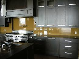black glass backsplash kitchen kitchen design kitchen backsplash glass tile ideas yellow
