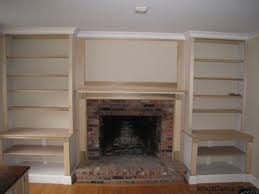Build Wooden Bookcase by Plans For Building A Book Shelf Around A Fireplace Book Shelves