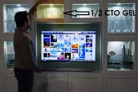 replacing led lights in tv how to change led cool light to warm light with light filtering gels