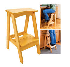 Woodworking Stool Plans For Free by Get A Step Up With Skil U0027s Free Kitchen Stool Woodworking Plans