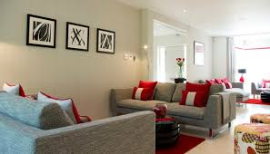 living room with red accents living room in beige fashion 60 exles of how you can do it