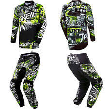 wee motocross gear youth motocross gear ebay