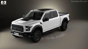 Ford Raptor Crew Cab - 360 view of ford f 150 super crew cab raptor 2016 3d model hum3d