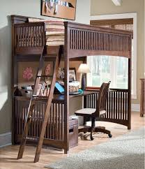 Bunk Bed Futon Combo Perfect Full Size Bunk Bed With Desk Modern Storage Twin Images On