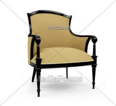 Isolated Classic Armchair Stock Image Il112259942