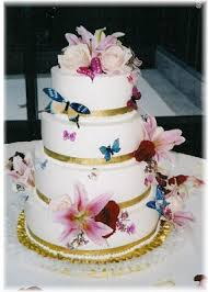 Lily U0027s Cakes And Breads Butterfly Wedding Cakes Above