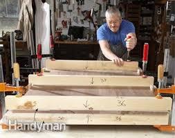 table top glue up panel glue up with cauls diy pinterest tabletop pocket screws