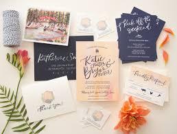 wedding stationery vibrant watercolor crest wedding invitations