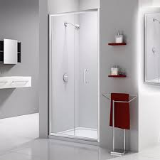 Frameless Bifold Shower Door Lakes Semi Frameless Bifold Shower Door 800mm 325 08 At Allbits