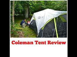 Coleman Namakan Fast Pitch 7 by Coleman Tent Review 6 Person Fast Pitch Youtube