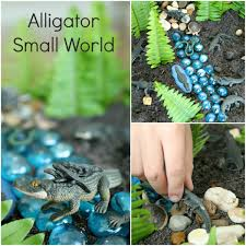 alligator small world play fantastic fun u0026 learning