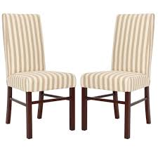 Safavieh Dining Chairs Safavieh Lester Blue Cotton Blend Dining Chair Set Of 2