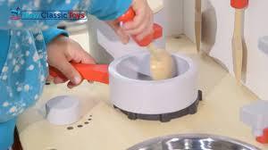 new classic toys bon appetit children kitchen youtube