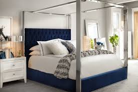 presley king canopy bed blue value city furniture click to change image