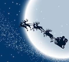 see santa fly over dursley thornbury and yate this christmas