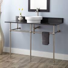 kingston brass console sink uncategorized console sink with metal legs in inspiring kingston