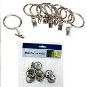 Drapery Rings Without Clips Curtain Clips