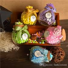 jar favors glass jar wedding favors candy boxes chocolate boxes clear
