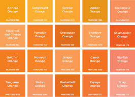 hues of orange orange is the happiest colour brand design pinterest happy