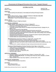 Sample Resume For Preschool Teacher Bilingual Resume Free Resume Example And Writing Download