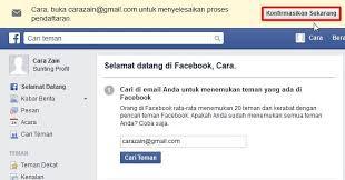 cara membuat akun gmail untuk facebook cara membuat facebook baru gratis daftar akun fb cara zain