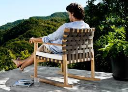 tribu vis a vis garden rocking chair tribu outdoor furniture at