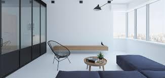 minimalist apartment in kiev ukraine boasts modern furniture and rivers by emil dervish stylish living room design idea with modern furniture in a minimalist