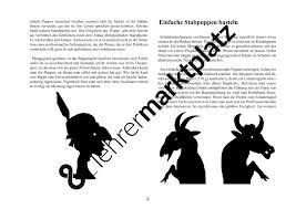 Preiswerte K Hen Stabpuppen Basteln U2013 Kunst Theater Ds
