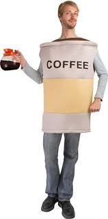 amazon com coffee costume size standard clothing