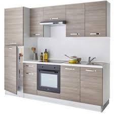 cuisine complete cuisine complète vitrocéramique bois all in castorama