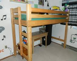 Dorm Room Loft Bed Plans Free by Sinpa