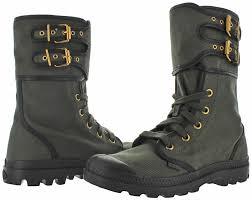 s army boots uk palladium pa peloton s canvas combat boots ebay