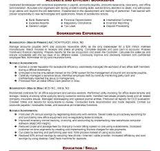 Data Entry Responsibilities Resume Sample Resume Bookkeeper Office Manager And Bookkeeper Resume
