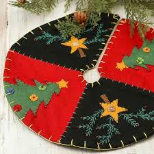 christmas skirt small christmas tree and embroidered tree skirt