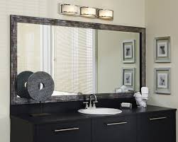 How To Build A Frame Around A Bathroom Mirror Amazing Add A Wood Frame Around Plain Mirror Diy Inside For