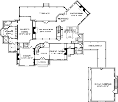 european style house plan 5 beds 4 50 baths 5343 sq ft plan 453 47