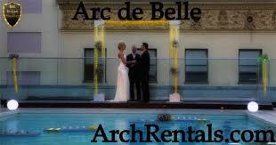 wedding arches los angeles acrylic wedding altar arch rentals available in los angeles orange