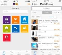 free website templates for android apps growth of olx classifieds mobile apps