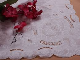 Fine Table Linens by Embroidery Tablecloths Tablecloths Wholesale Vintage Table Cloth