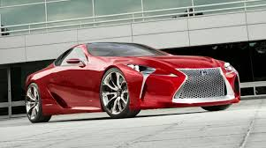 lexus lf lc blue concept 2012 production lexus lf lc will be almost identical to concept report