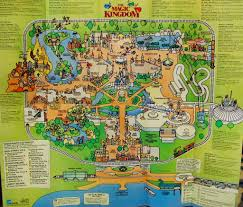 Magic Kingdom Map Orlando by Park Map Of The Magic Kingdom 1994 1994 Boy Have Things U2026 Flickr