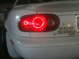 how to make custom led tail lights custom led na miata tail lights clubroadster net