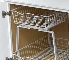 Under Cabinet Shelving by Under Cabinet Organizer Bathroom Home Design Ideas