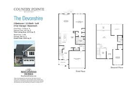 country pointe meadows beechwood homes view floorplan