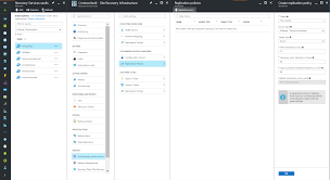 set up replication settings for azure site recovery microsoft docs