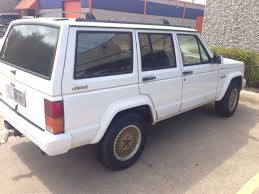 gold jeep cherokee jeep cherokee 1992 limited edition gold trim gold wheels for sale